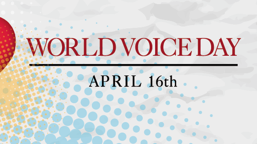World Voice Day | 16th April